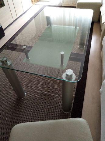 Stół kawowy szklany