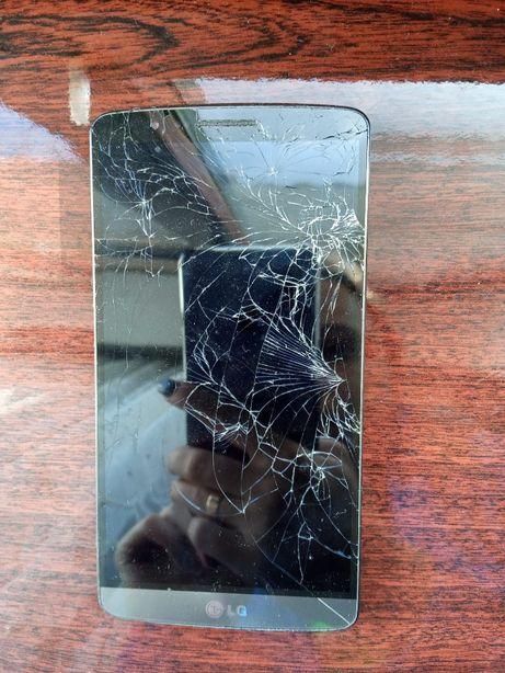 Продам робочий телефон LG G3 на запчастини або під відновлення