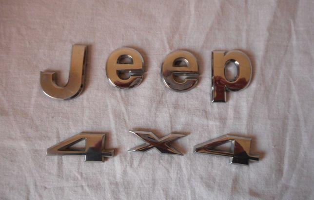 Jeep 4X4 хром эмблема значок оригинал бу