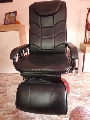 Cadeira de massagens em preto