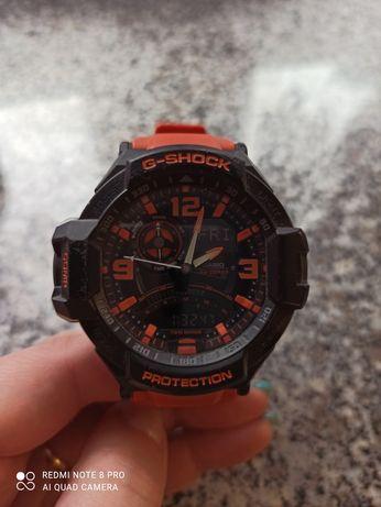Zegarek g shock GA-1000 meski pomaranczowy