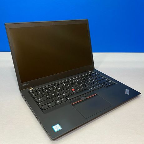 "Lenovo ThinkPad T470s - 14"" Touch (i7-7600U/12GB/256GB SSD)"
