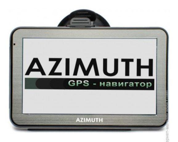 GPS навігатор AZIMUTH