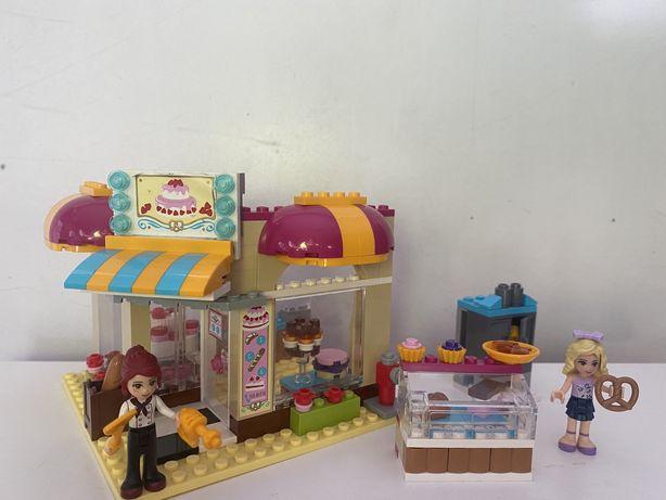 Lego Friends — Piekarnia— 41006– instrukcja+pudełko