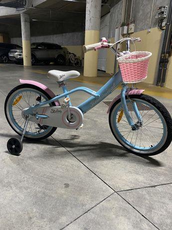 Bicicleta imaginarium menina, 4-7 anos