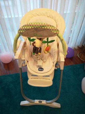 Cadeira evolutiva refeição Completa bom estado Chicco Polly Magic