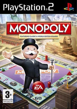 Jogo PS2 Monopoly - NOVO! SELADO! Original!