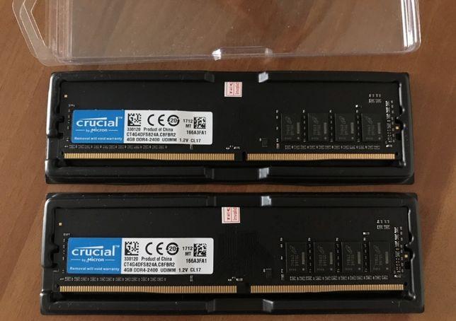 """Оперативная память Crucial DDR4 4Gb 2400MHz """" ОБМЕН """""""