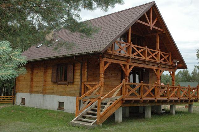 Wiosna Lato Jesień Zima, całoroczny drewniany Dom