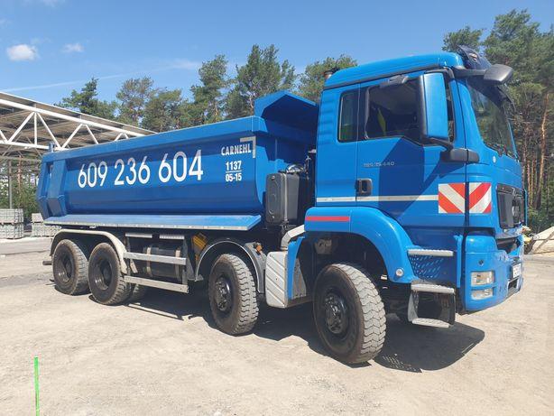 Usługi - Transport - Wywrotka 8x8 Piasek Ziemia Tłuczeń