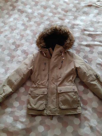 Куртка курточка парка зима 8-9лет
