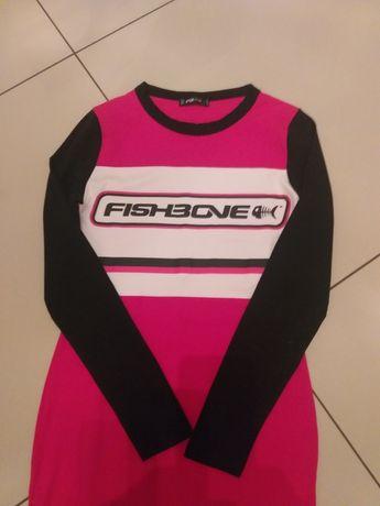 Śliczna dopasowana sukienka Fishbone