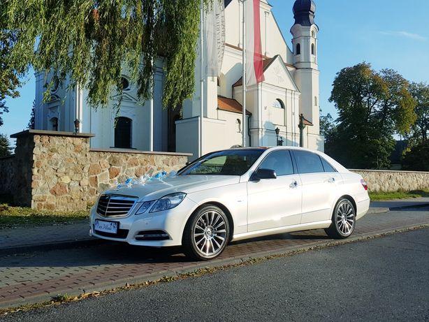 400zł. Biały Kamelon z certyfikatem. Mercedes auto samochód do ślubu