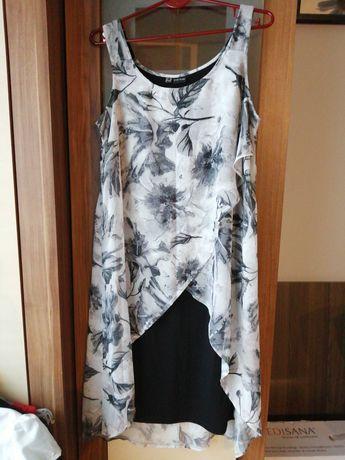 Nowa sukienka narzutka szyfon body flirt rozm. 40/42