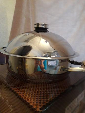 Посуда 5л с объёмной крышкой от цептер zepter