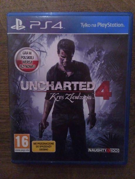 Uncharted 4 kres złodzieja ps4 pl