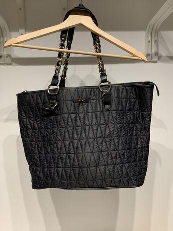 Duża, czarna torebka DKNY - oryginał!