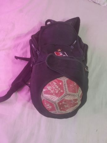 Детский спортивный рюкзак, отделение для мяча