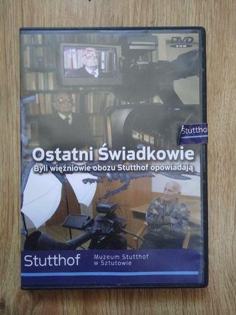 """Film """"Ostatni świadkowie. Obóz Stutthof"""" DVD"""
