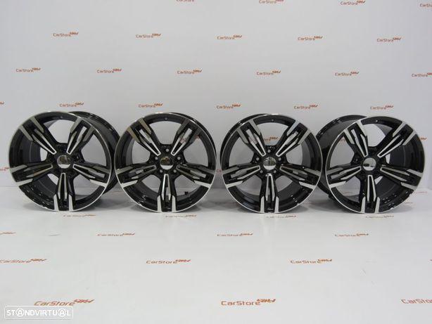 Jantes Look Bmw M6  Style433  18 x 8 et35 + 9 et 40 5x120 Pretas e polidas