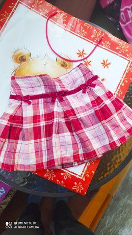Теплая юбка Zara 4-5 лет