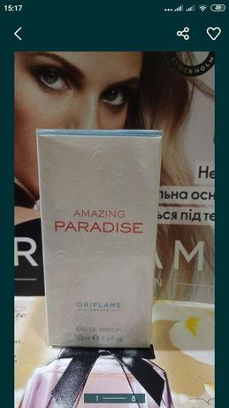 Парфюмерная вода Paradise Парадайз  Amazing Орифлейм