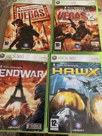 Gry xbox 360 Tom Clancy's H.A.W.X , Endwar, Wegas 1, 2