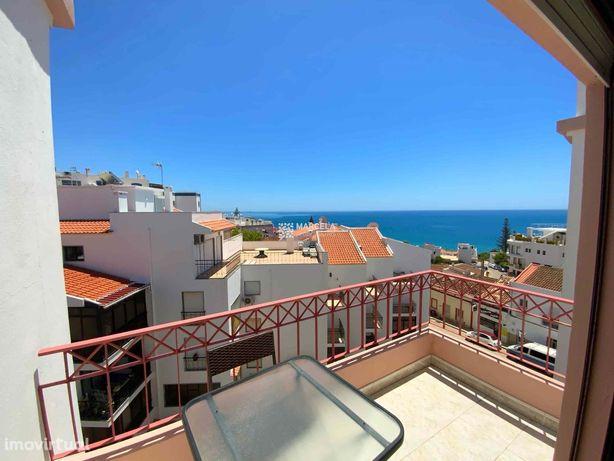 Fantástico Apartamento T1 No Último Piso Com Vista Mar Na Praia Da Luz