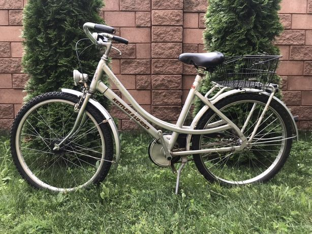 Велосипед дамський kettler 26 планетарка 3 передачі
