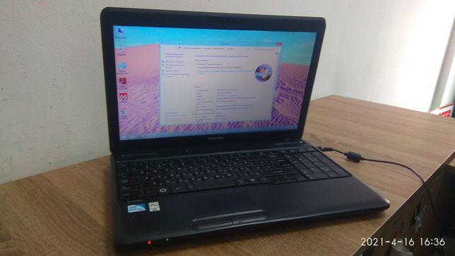 Ноутбук Toshiba c660 i3/4gb ddr3/500gb