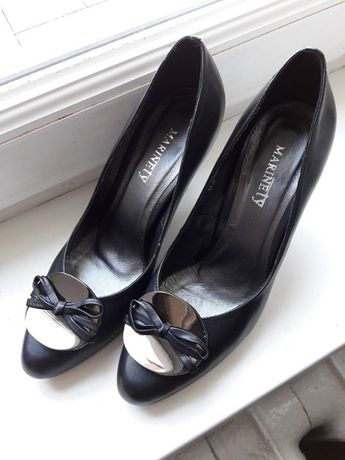 новые кожаные туфли, 37 размер, Marinety