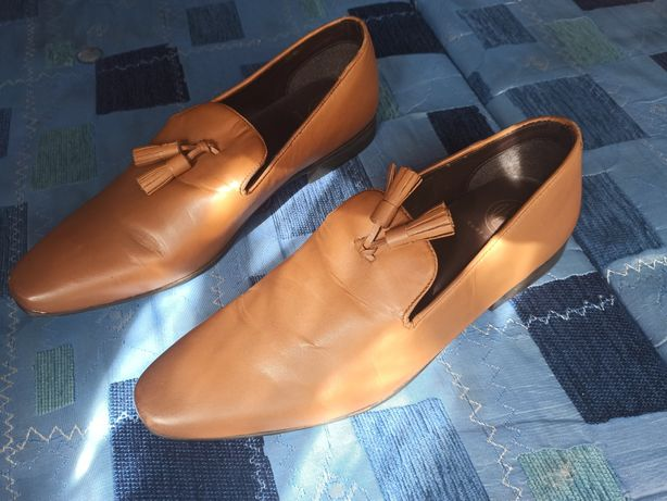 Туфли kurt geiger кожаные мужские лоферы