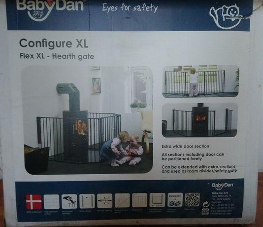 Bramka ochronna kominkowa Baby Dan