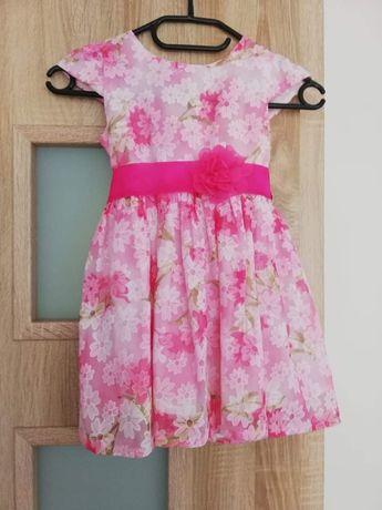 Śliczna sukienka dla małej księżniczki 104