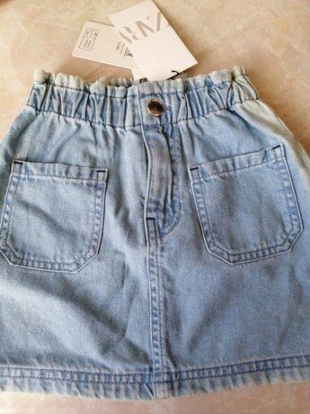 Spódniczka jeansowa 116