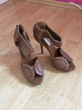 Szpilki sandałki Zara