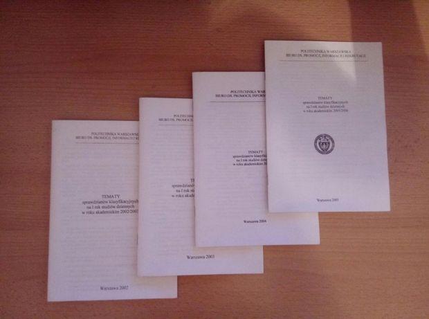 Testy tematy klasyfikacyjne Politechnika matemaryka fizyka chemia biol
