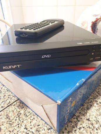 Leitor DVD 109 USB KUNFT
