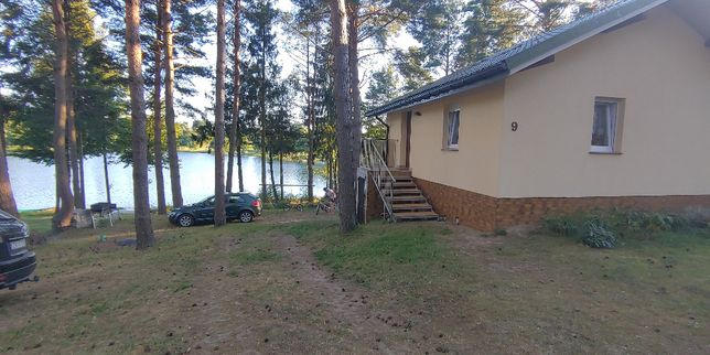 Dom nad jeziorem, domek w Poroście, dom do wynajęcia , Porost
