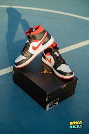 """Air Jordan 1 Mid """"Metallic Red"""" - 43"""