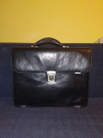 Кожаный портфель Valentini деловой мужской