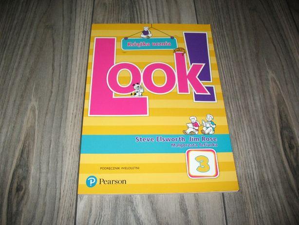 Look! 3 Książka ucznia. Podręcznik wieloletni z płytą CD (KSIĄŻKA)