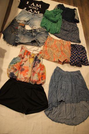 zestaw ubrań dla dziewczyny roz.S ,sukienki ,STAN BARDZO DOBRY