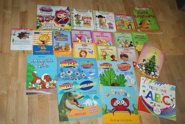 Zestaw Mc Donalds książeczki, Disney, kucyki