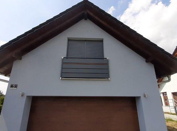 Balkon francuski portfenetr rzygownik Solid montaż aluminium wysyłka