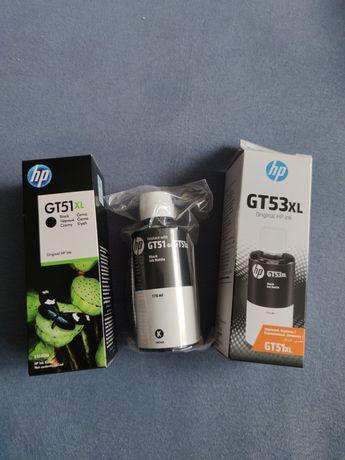 Tusz czarny HP GT51XL (X4E40AE) XL oryginalny 2szt+gratis