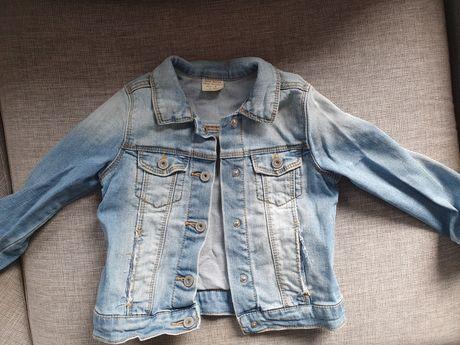 Kurtka dżinsowa jeansowa dziewczęca Zara 104 dla dziewczynki