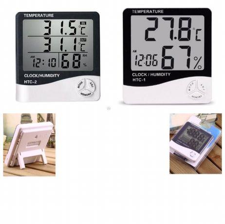 Метеостанция термометр часы гигрометр НТС -1, HTC -2