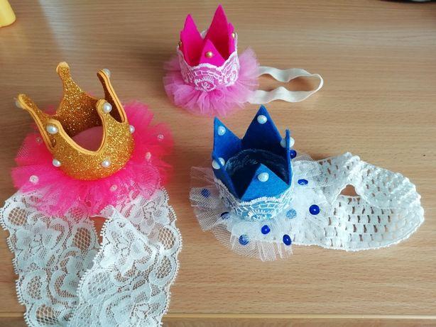 Повязка корона для принцессы