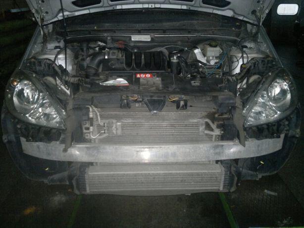 Mercedes A klasa W169 STREFA zgniotu sztyca kły belki zderzaka części